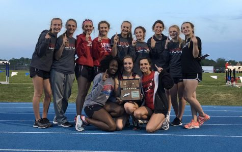 Girls Track Dominates at District Finals