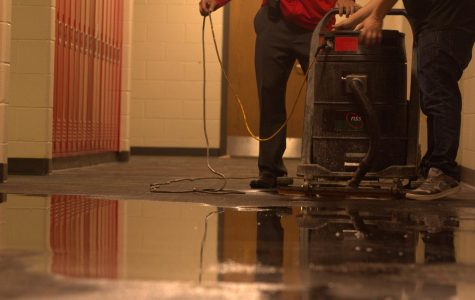 Boys Bathroom Faces Flooding