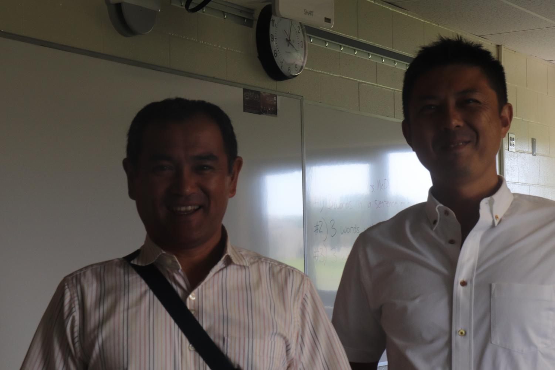 Japanese+teachers+Kikkawa+and+Shibayama+came+along+with+their+students.+Kikkawa+teaches+social+studies+and+Shibayama+teaches+math.+