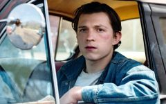 Tom Holland plays Arvin Russel, a young man devoted to halting all evil.