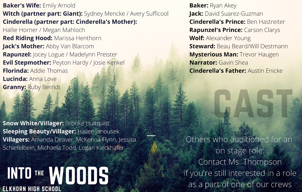 """I Know Things Now"" : The Cast List"
