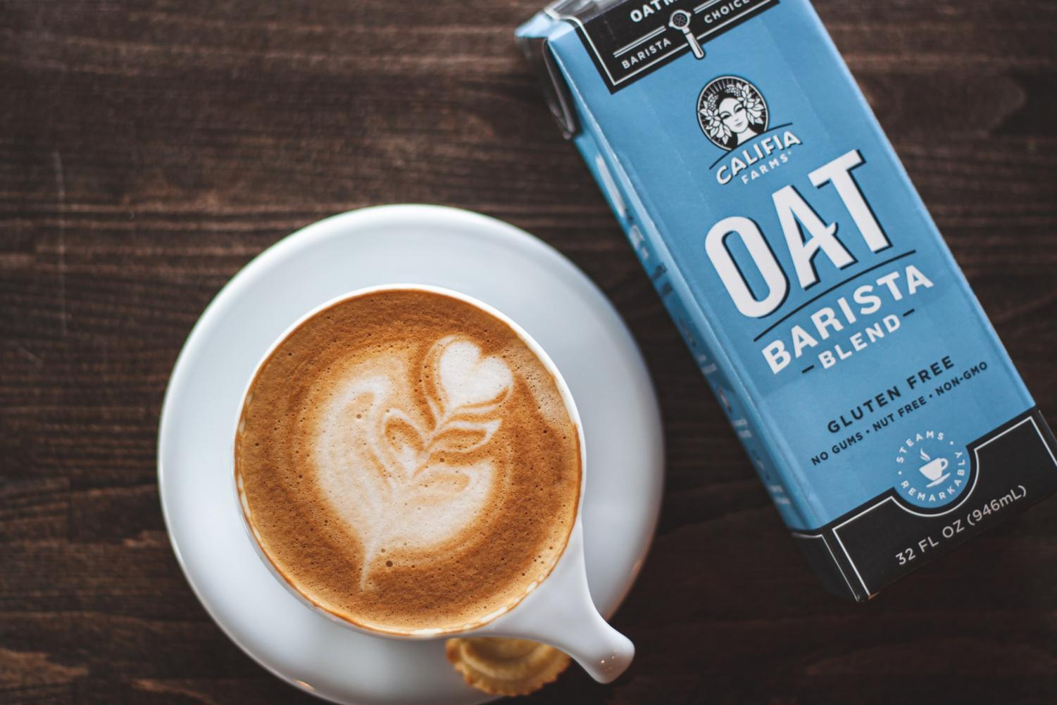 Oat milk is a popular alternative at coffee shops in the Metro area. Many locally owned businesses have struggled to find it because national chains bought large quantities.