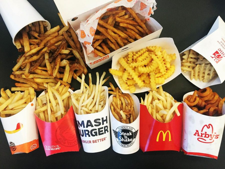 Fast+food+fries+come+in+all+shapes+and+sizes.+Riley+and+Ellie+rank+the+best.