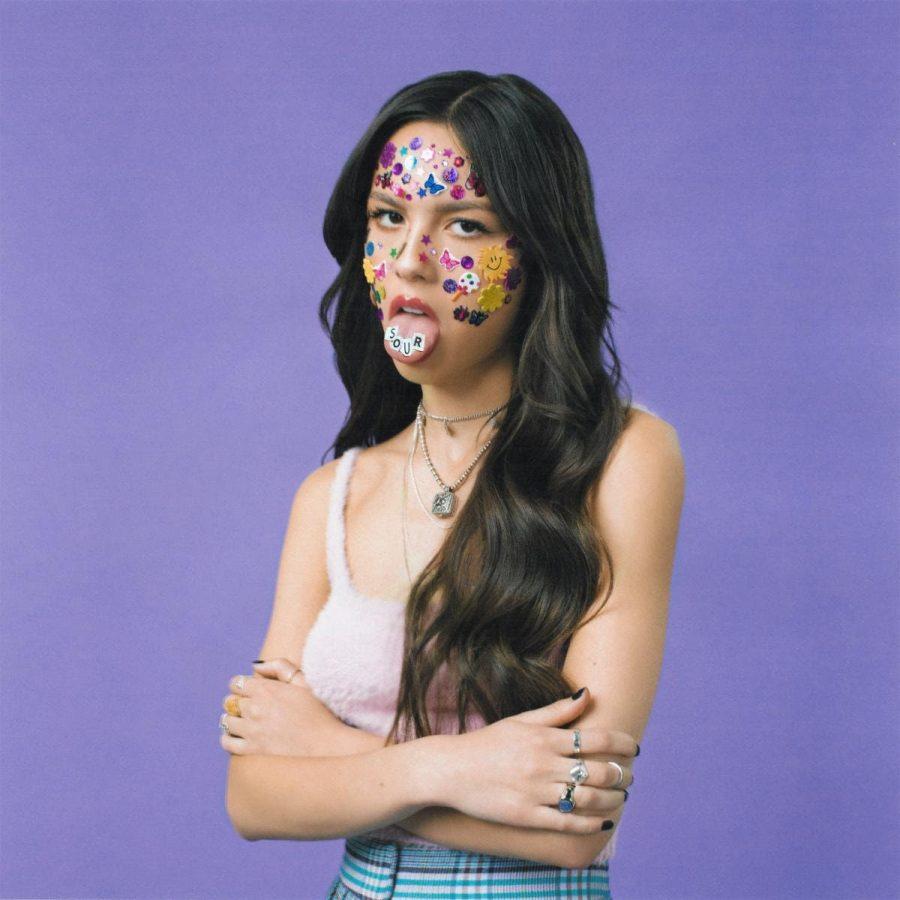 Olivia Rodrigos album cover.